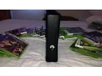 Xbox 360 elite 500gb and 33 games