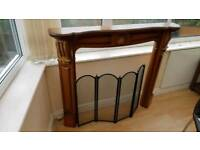 Fire surround and guard