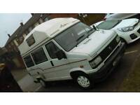 Talbot express 1000p 4 birth 1994 genuine mileage all old mots to back this up