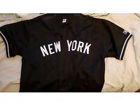 New York baseball jersey xl