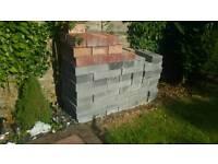Bricks and breeze blocks provisionally gone