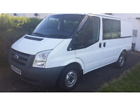 White ford transit mk7 for sale