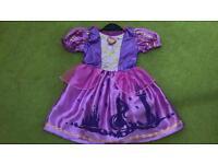 Disney Rapunzel fancy dress 3-4 years old