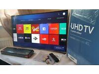 Samsung · 49 inch 4k · Smart TV, Freeview Enabled, High Definition · LED Backlit ue49ku6400
