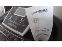 Confidence fitness motorised treadmill. Only used a few times