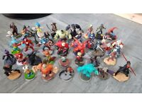 Job lot disney infinity charaters and place mats and more