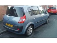 renault scenic 1,6 2004year 60123 on ,clock