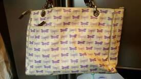 Purple lining Changing Bag