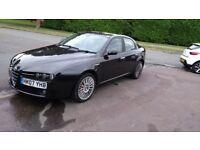 ALFA ROMEO 159 LUSSO JTDM 2007 BLACK DIESEL STUNNING CAR