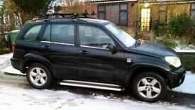 Black Toyota Rav