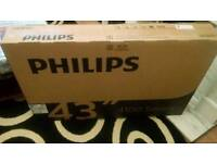 Brand new philips 43 inch sealed Rrp £350