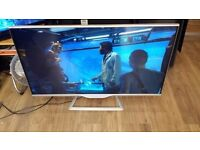 """Sharp 50"""" 4k Smart 3D LED TV Silver with Freeview HD £260"""