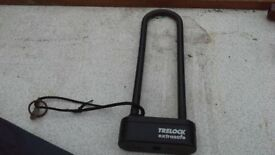 BIKE LOCK AND BAG