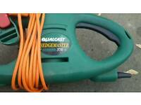 Qualcast hedge trimmer.