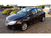 Seat Ibiza 1.4 Manual - Petrol, Black