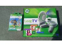 Leap frog TV get mimds and bodyies moving set with one game pAw patrol.Can deliver or post!