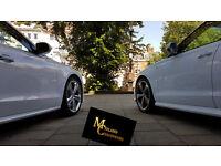 Midland Chauffeurs Car Hire for Wedding, Registry, Reception Parties, Proms, Audi, Mercedes, Bentley