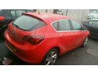 2014 14 Vauxhall astra 1.6 sri vvt damage repaired
