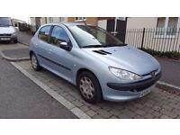 Peugeot 206 (2004) 5 door hatchback available from 02/10/2017