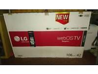 LG HD smart TV, broken screen