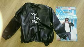 Grease T birds leather look jacket boys