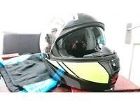Spada flip front motorcycle helmet