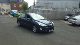 Peugeot 308 diesel with 12 months mot 60 plate 2010 in year