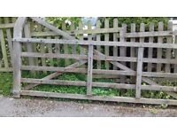 Wooden field gate for sale