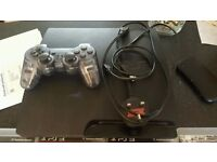 Slim Ps3 320 Gig HDD with 47 installed Full Psn Games and lots of DLC and Blops II Disc