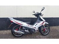 For Sale Nipponia Brio 125cc cub motorbike, FSH, long MOT, low mileage.