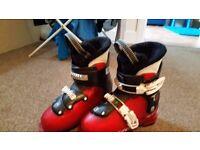 Salamon T2 kids ski boots. 20.5