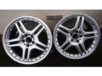 AMG Alloy Wheels