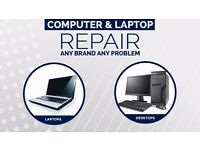 Laptop and PC computers repair-on site and pick up and delivery at no extra cost-