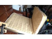 Tan sofa bed for sale