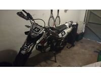 2010 Wr125x, awesome to ride, great sound selling to buy a big bike now i have my full bike licence