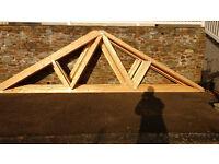 Roof trusses, brand new unused.
