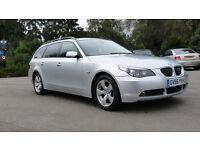 BMW 525D SE Touring Auto, Satnav, Xenons, ££££'s of Extras **FULLY LOADED**