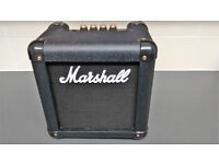 Marshall MG2FX Practice Amp Battery/Mains In Carry Case