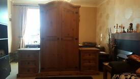 Wardrobe and 2 bedside cabinets