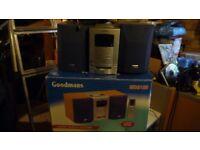 Goodman's MD9100 mini stereo system
