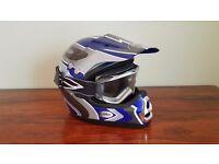 Boys motor cycle helmet