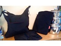 Two Phil and Ted changing bags with padded foldable changing mat