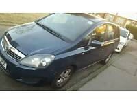 Vauxhall zafira for sale pco registed