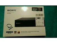 Sony 3D 4k bluray player UPBX-800