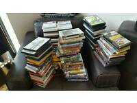 188 assorted Dvds - used