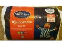 Brand new single quilt silentnight 10.5tog never been opened.