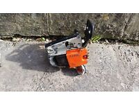 Stihl top handled chainsaw ms020