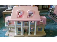 Little tikes large dolls house