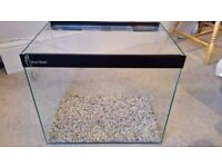 Fish tank, Clear Seal, 53 litres, 46x38x30cm, with all required equipment & accessories