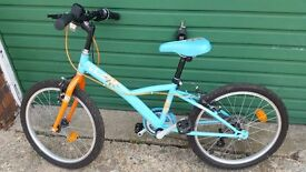 Bicycle BTWIN for kids 6 to 10 years old !Perfect condition! (depending on height )